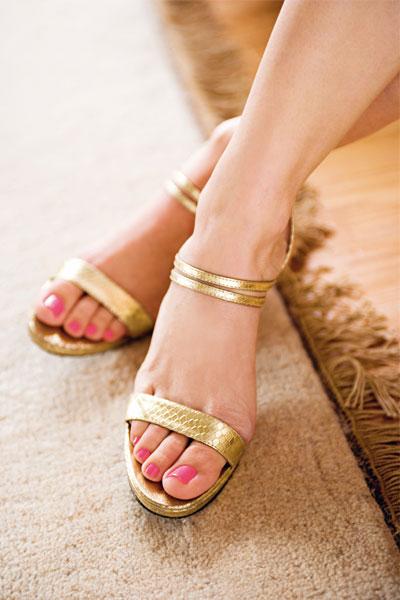 füsse in high heels
