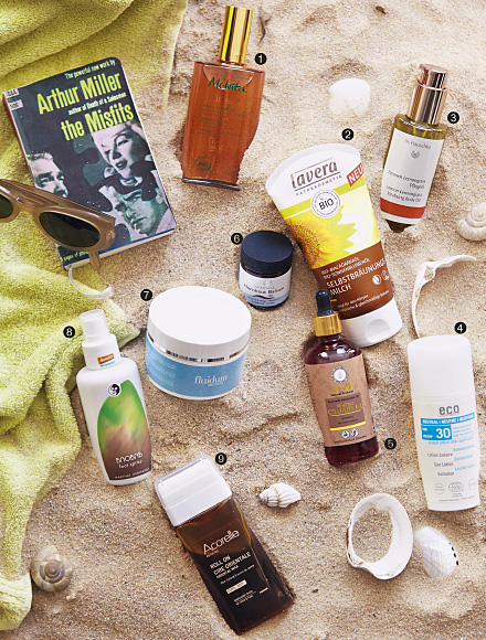 Sommerpflegeprodukte (Foto: © maria grossmann / monika schürle )