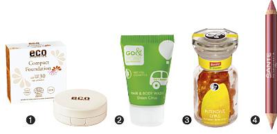 Produkte für die Reise